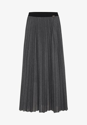 Pleated skirt - gray