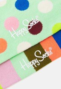 Happy Socks - BIG DOT STRIPE 2 PACK UNISEX - Socks - multi - 1