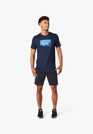 T-shirt print - deep navy