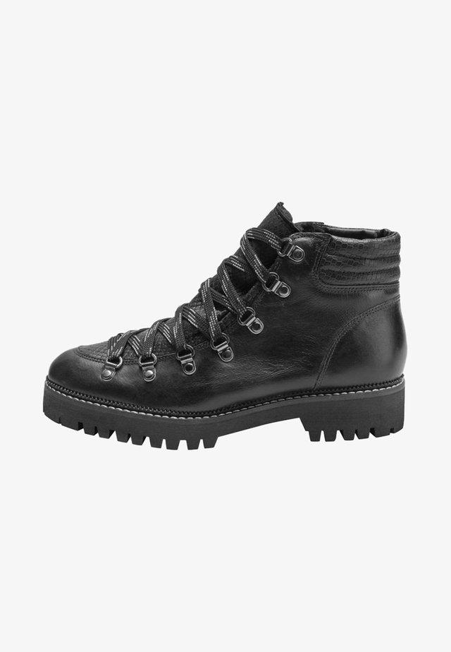 BLACK SIGNATURE COMFORT PREMIUM HIKER BOOTS - Ankle boot - black