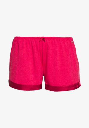 SHORTS SHINY - Pyjama bottoms - red