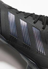 adidas Performance - PREDATOR 19.2 FG - Fodboldstøvler m/ faste knobber - core black/utility black - 5