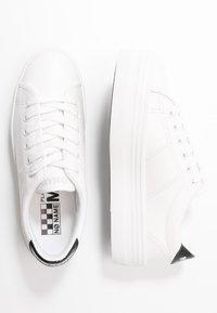 No Name - PLATO - Sneakers laag - white/black - 3