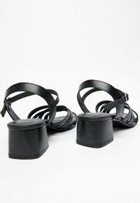 White Sun - ERELL  - Sandals - black - 1