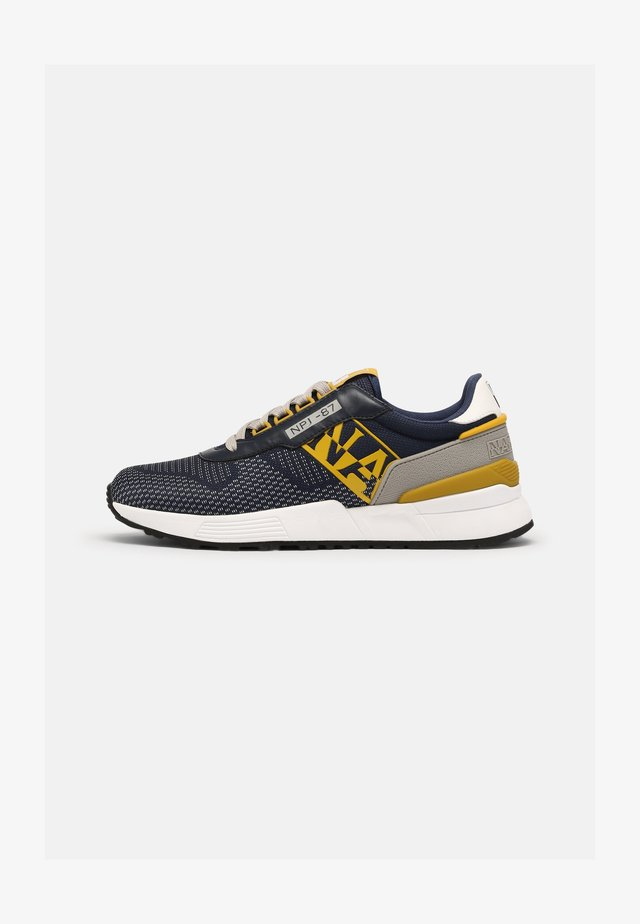 SPARROW - Sneakers - navy/yellow