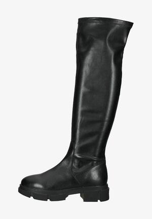 Plateaulaarzen - schwarz