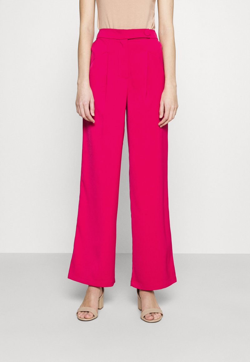4th & Reckless - VIVIAN TROUSER - Trousers - pink