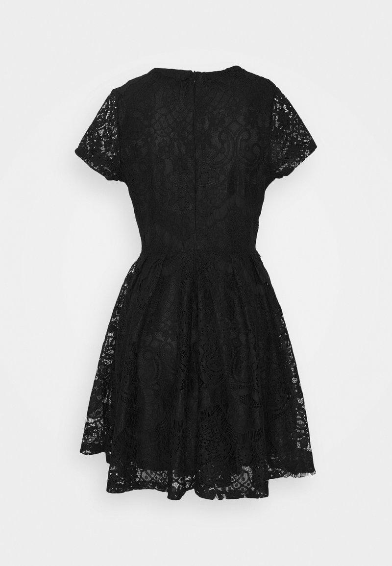 averi skater dress - cocktailkleid/festliches kleid - black