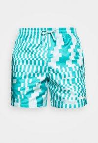 Nike Sportswear - ZIGZAG FLOW - Shorts - aquamarine - 3