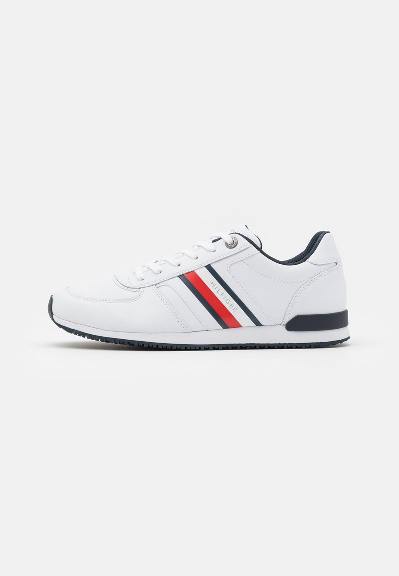 Tommy Hilfiger - ICONIC MIX RUNNER - Trainers - white