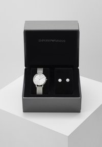 Emporio Armani - SET - Klocka - silver-coloured - 3