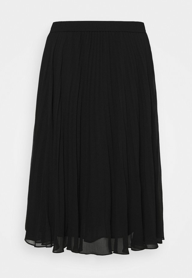 LESLIE - A-line skirt - black
