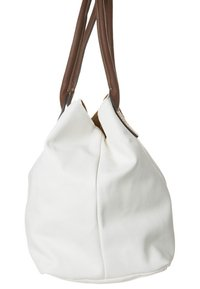 TOM TAILOR - MIRIPU - Handbag - white/camel - 2
