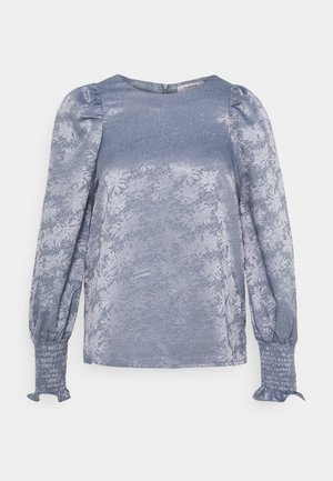 BLOUSE - Camiseta de manga larga - country blue