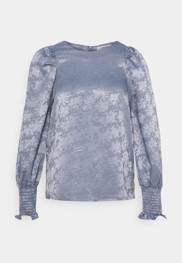 BLOUSE - T-shirt à manches longues - country blue