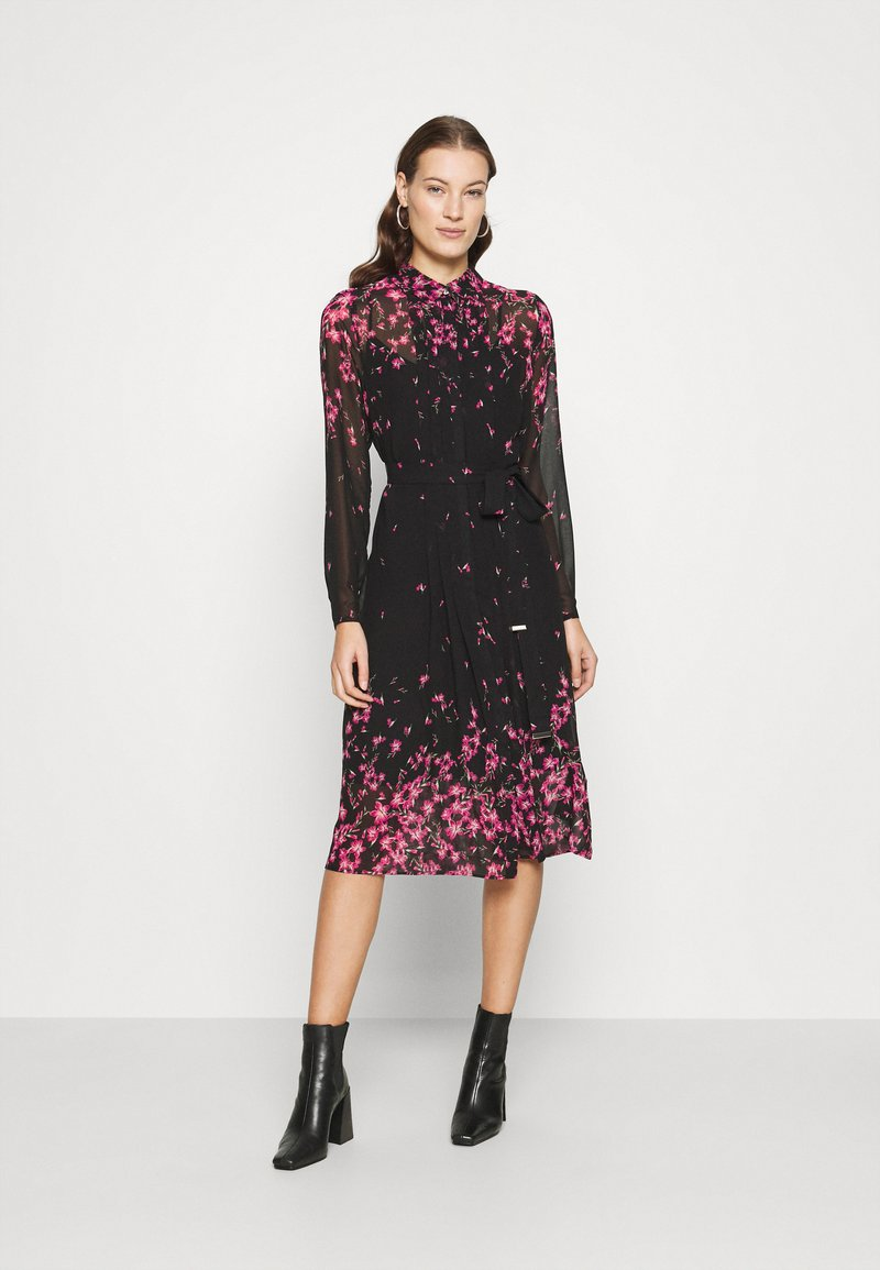 Ted Baker - SEFFIE - Shirt dress - black