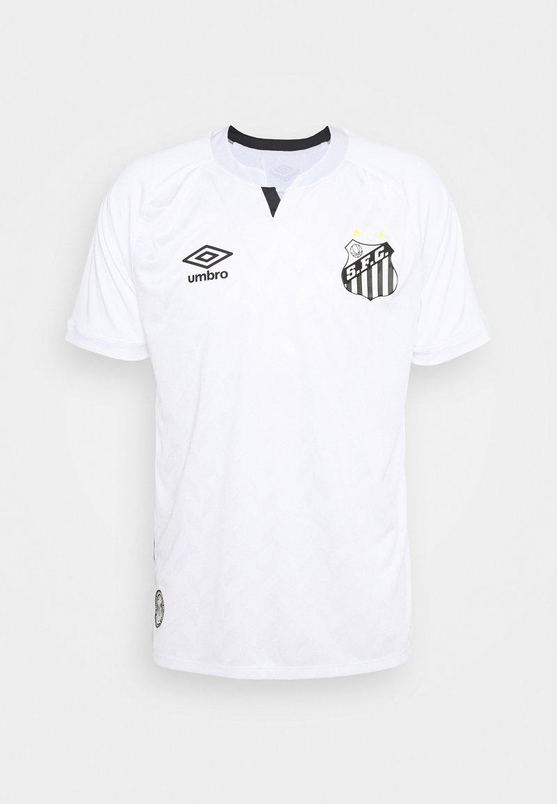 Umbro - SANTOS HOME - Klubové oblečení - white/blue