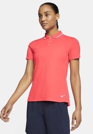 DRY VICTORY - Sports shirt - laser crimson/white