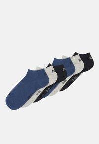 Puma - SNEAKER 3 PACK UNISEX  - Calcetines tobilleros - navy/grey/nightshadow blue - 0