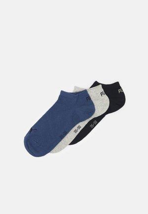 SNEAKER 3 PACK UNISEX  - Sokletter - navy/grey/nightshadow blue