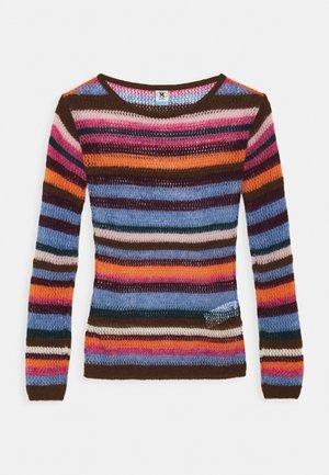 LONG SLEEVE CREW NECK - Trui - multicolor
