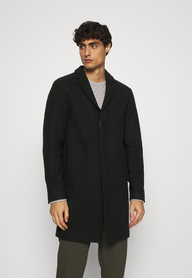 SLHHAGEN  COAT  - Mantel - black