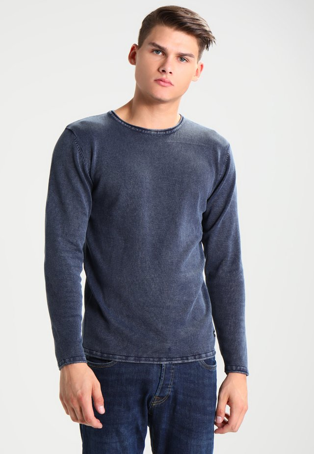ONSGARSON WASH CREW NECK - Maglione - dress blues