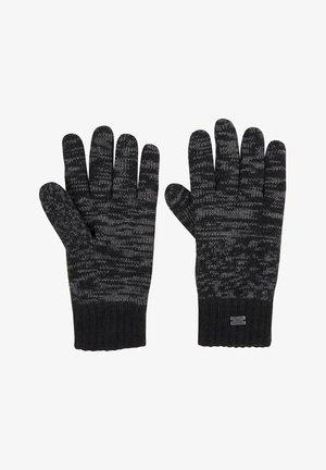 Gloves - grey/black