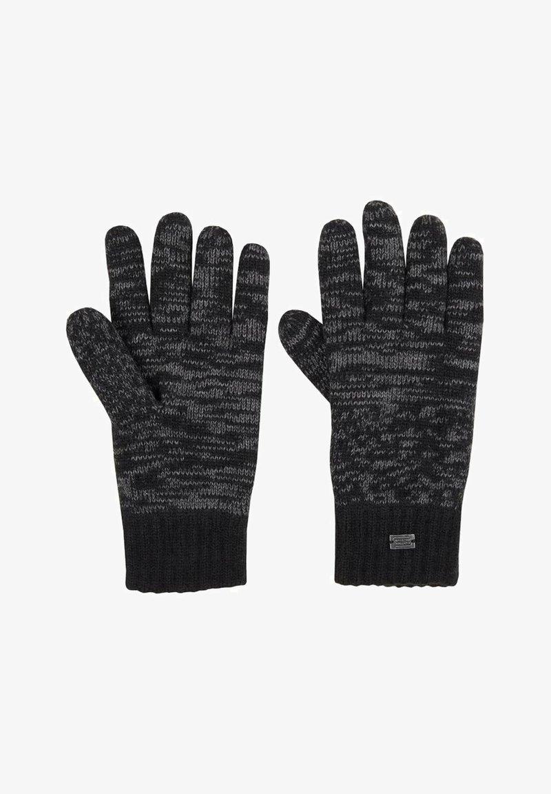 camel active - Gloves - grey/black