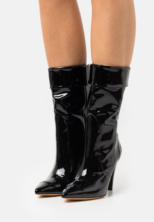 ULLY - High heeled boots - black