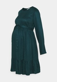 MAMALICIOUS - MLESSEY DRESS - Sukienka letnia - deep teal - 0