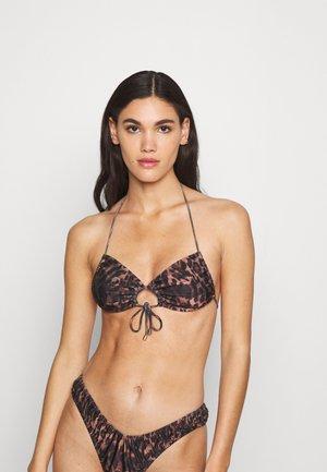 BRUNA - Bikinitop - brown