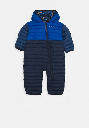 POWDER LITE REVERSIBLE BUNTING - Snowsuit - coll navy/bright indigo/night tide