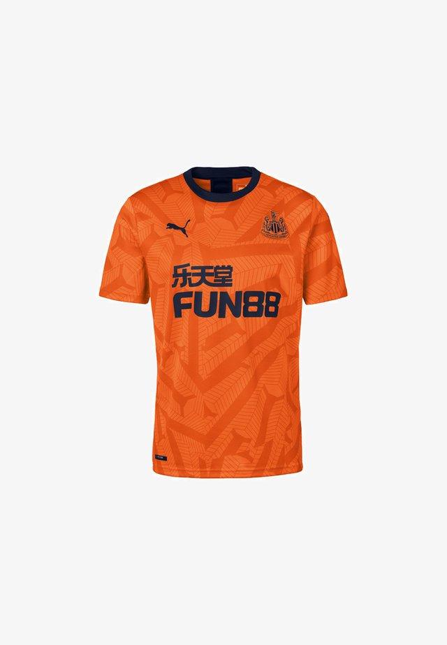 NEWCASTLE UNITED FC THIRD  - Print T-shirt - vibrant orange-peacoat