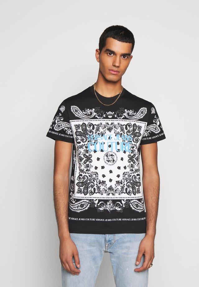 PLIGHT COMPACT - T-shirt con stampa - nero