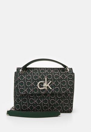 RE LOCK CROSSBODY - Skulderveske - green