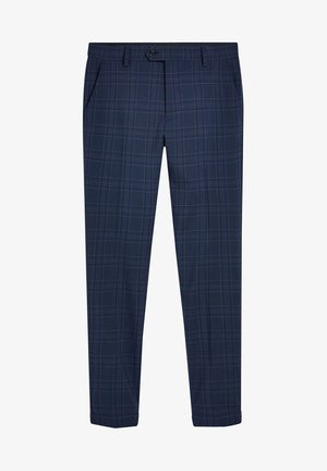 CHECK SUIT: TROUSERS-SUPER SKINNY FIT - Pantalon - blue