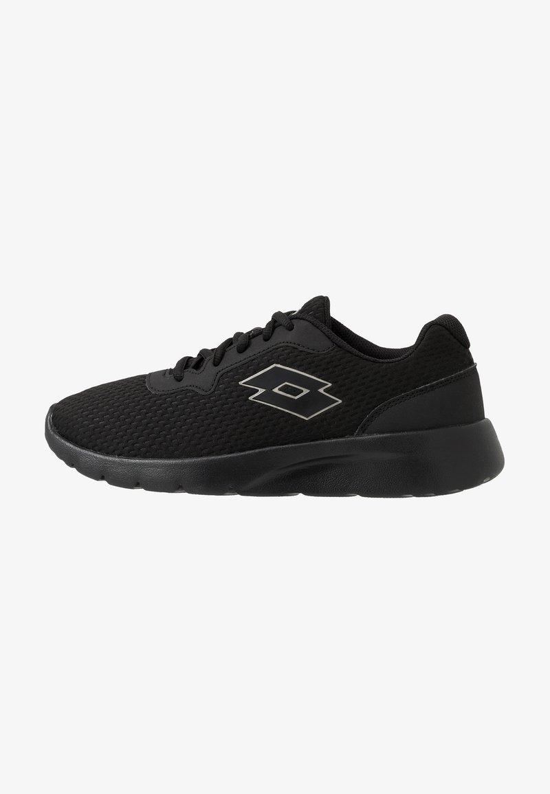 Lotto - MEGALIGHT IV - Sports shoes - all black/gravity titan