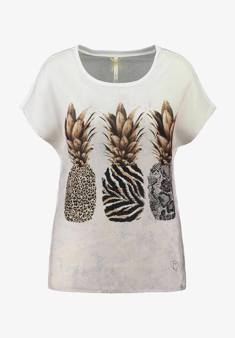 Key Largo - Print T-shirt - offwhite