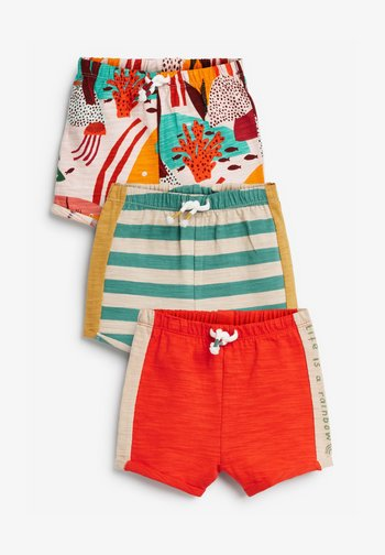 3 PACK - Shorts - orange