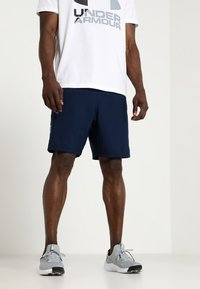 Under Armour - WORDMARK - Sports shorts - academy/graphite - 0
