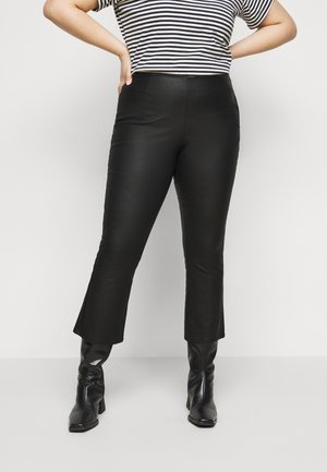 PCROXY COAT PANT  - Trousers - black