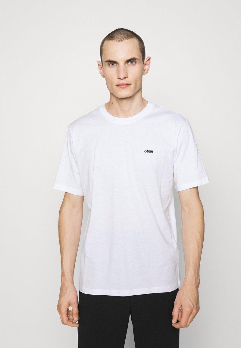 HUGO - DERO - T-shirt - bas - white