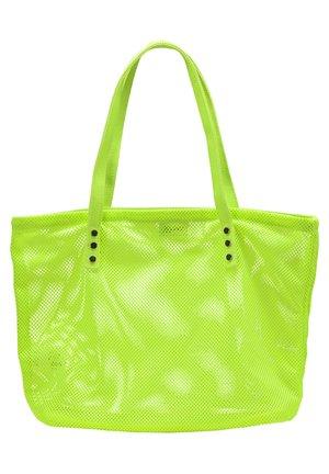 SHOPPER - Cabas - neon green
