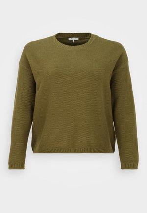 CROSBY TEXTURED - Sweatshirt - desert moss