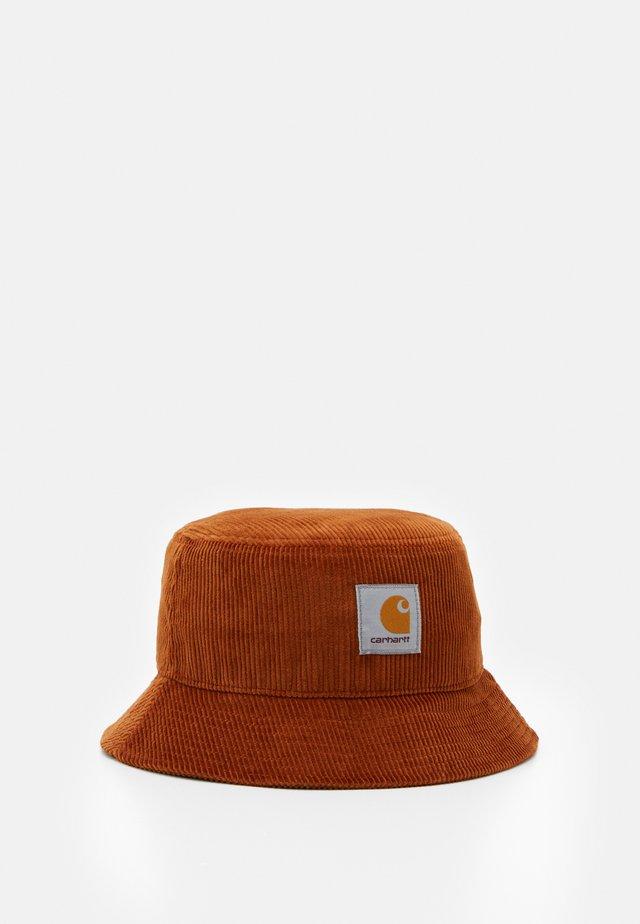BUCKET HAT - Chapeau - brandy