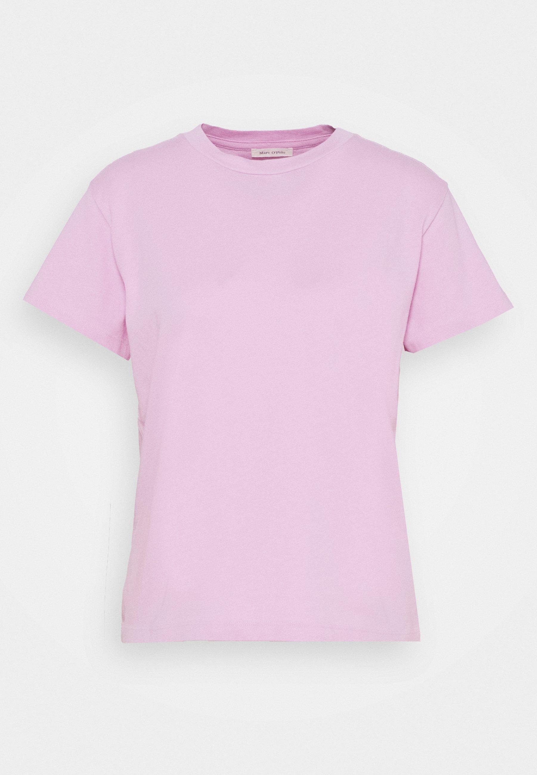 Damen SHORT SLEEVE ROUND NECK LOGO AT BACK NECK - T-Shirt basic