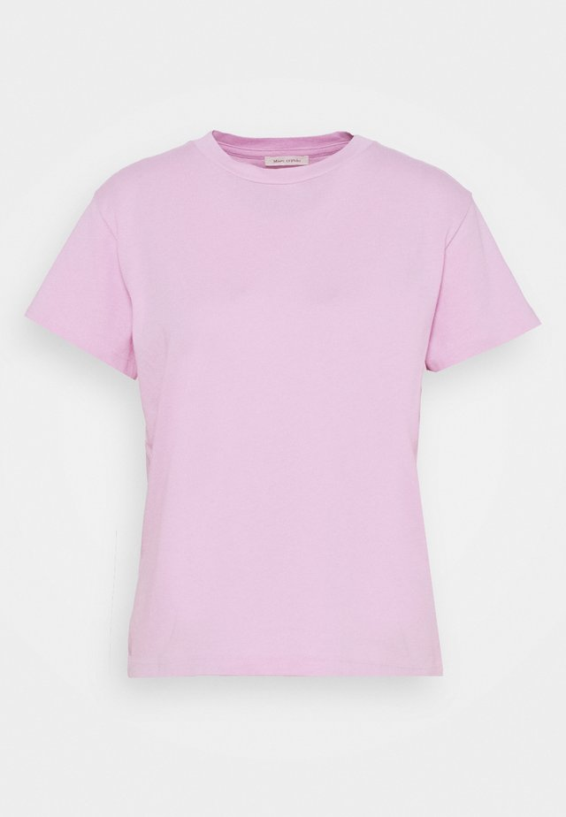 SHORT SLEEVE ROUND NECK LOGO AT BACK NECK - T-shirts - breezy lilac