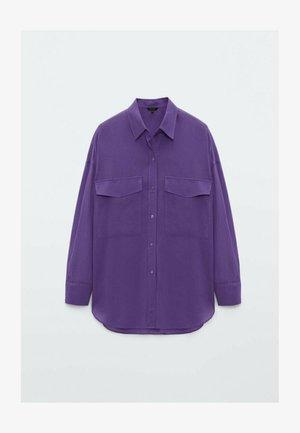 Chemisier - dark purple