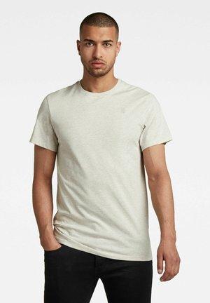 BASE  - Basic T-shirt - whitebait htr